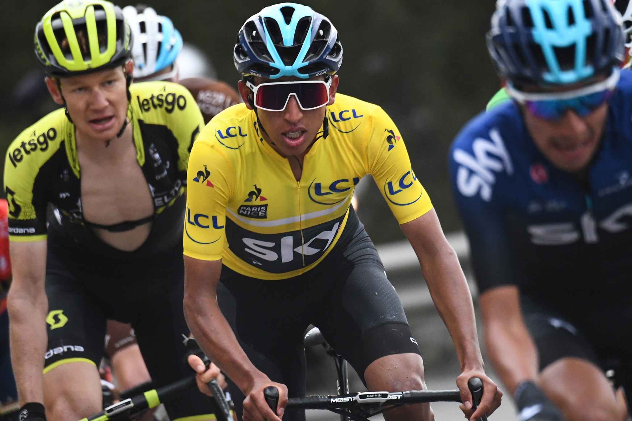 Paris-Nice, won last year by Colombia's Egan Bernal who will not be defending his title, is set to begin tomorrow ©Getty Images