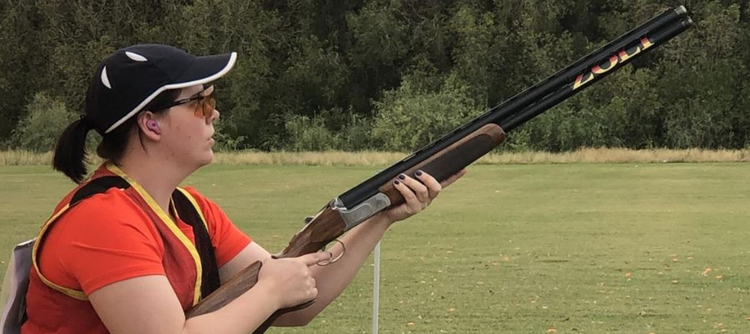 Germany's Nadine Messerschmidt won the women's skeet at the ISSF Shotgun World Cup in Nicosia today ©DSB