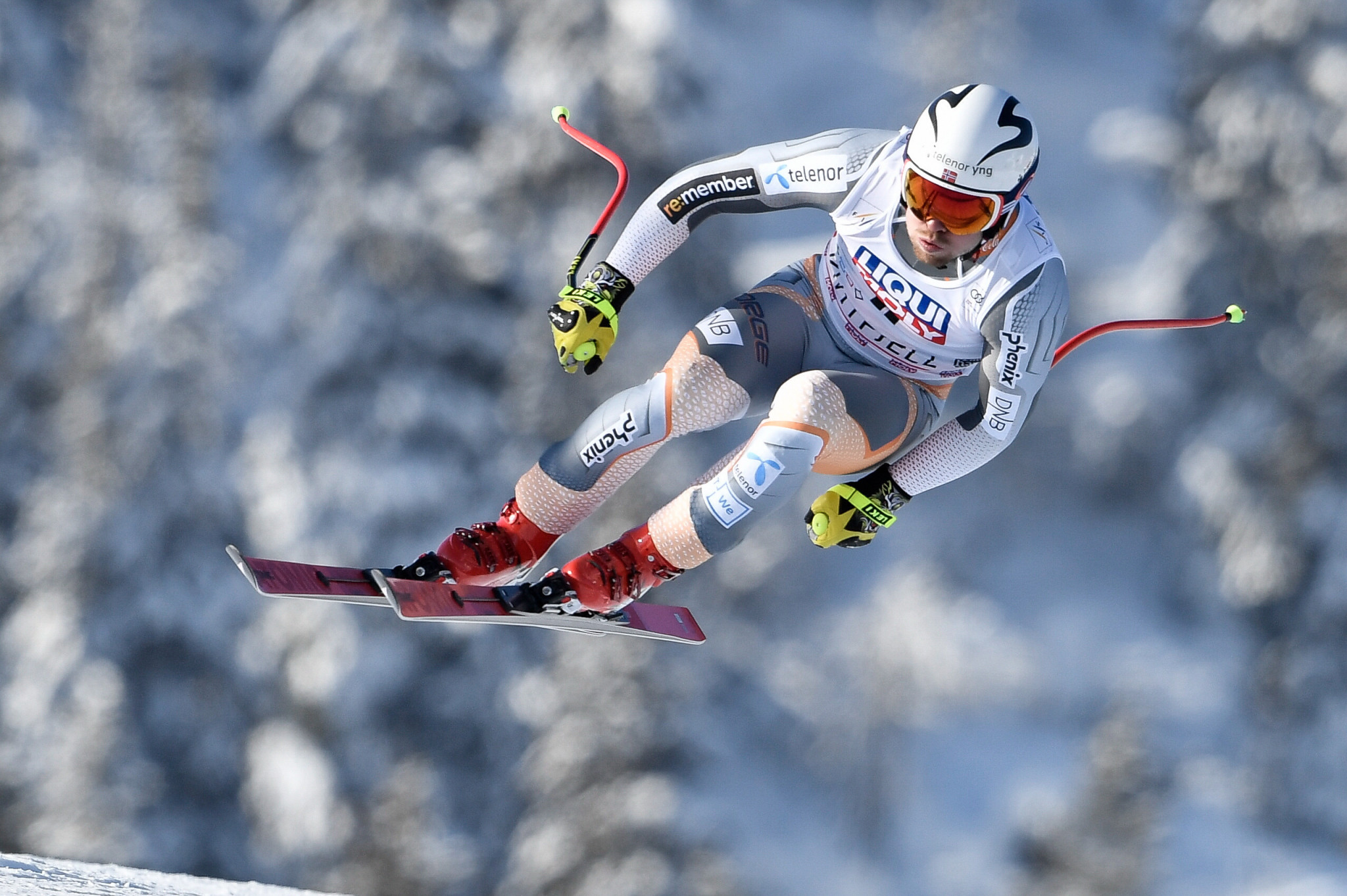 Aleksander Aamodt Kilde of Norway moved to the top of the FIS Alpine Ski World Cup standings ©Getty Images