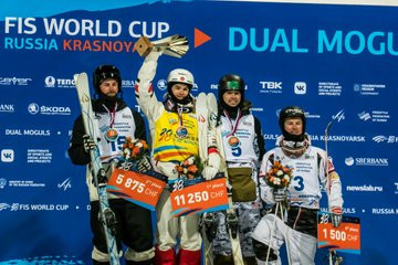 Kingsbury clinches ninth straight overall FIS Freestyle Ski Moguls World Cup title with win in Krasnoyarsk