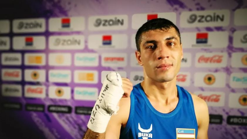 Uzbekistan's reigning world and Olympic flyweight champion Shakhobidin Zoirov is one win away from a Tokyo 2020 place at the Asia-Oceania Olympic boxing qualifier in Amman ©Olympic Channel