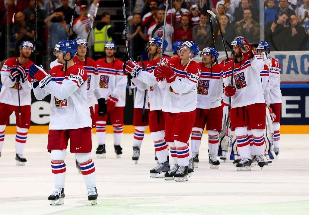 Hosts Czech Republic book last-eight spot at Ice Hockey World Championship