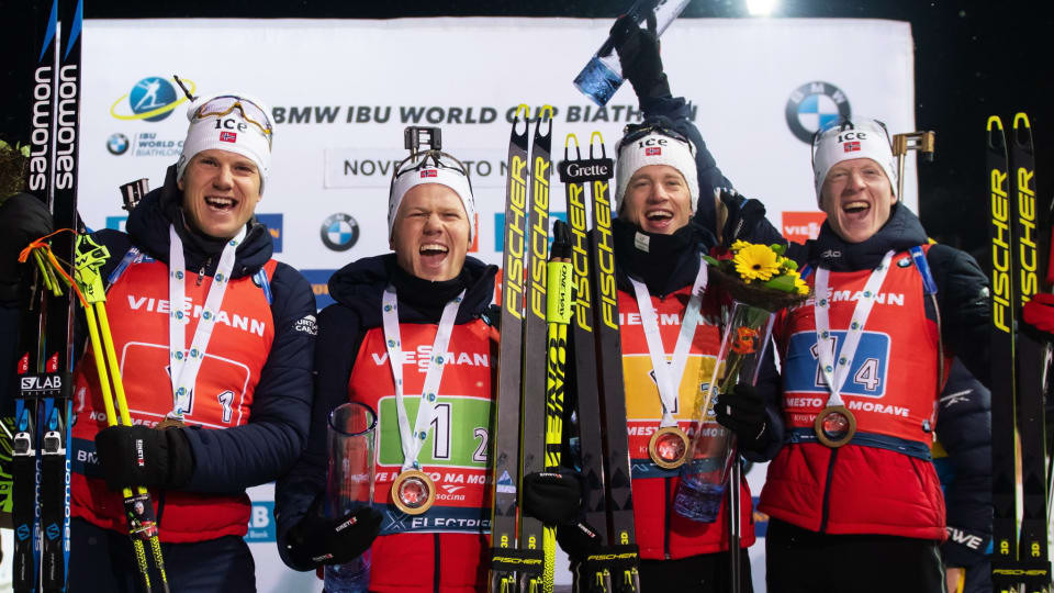 Norway secure relay double at IBU World Cup in Czech Republic
