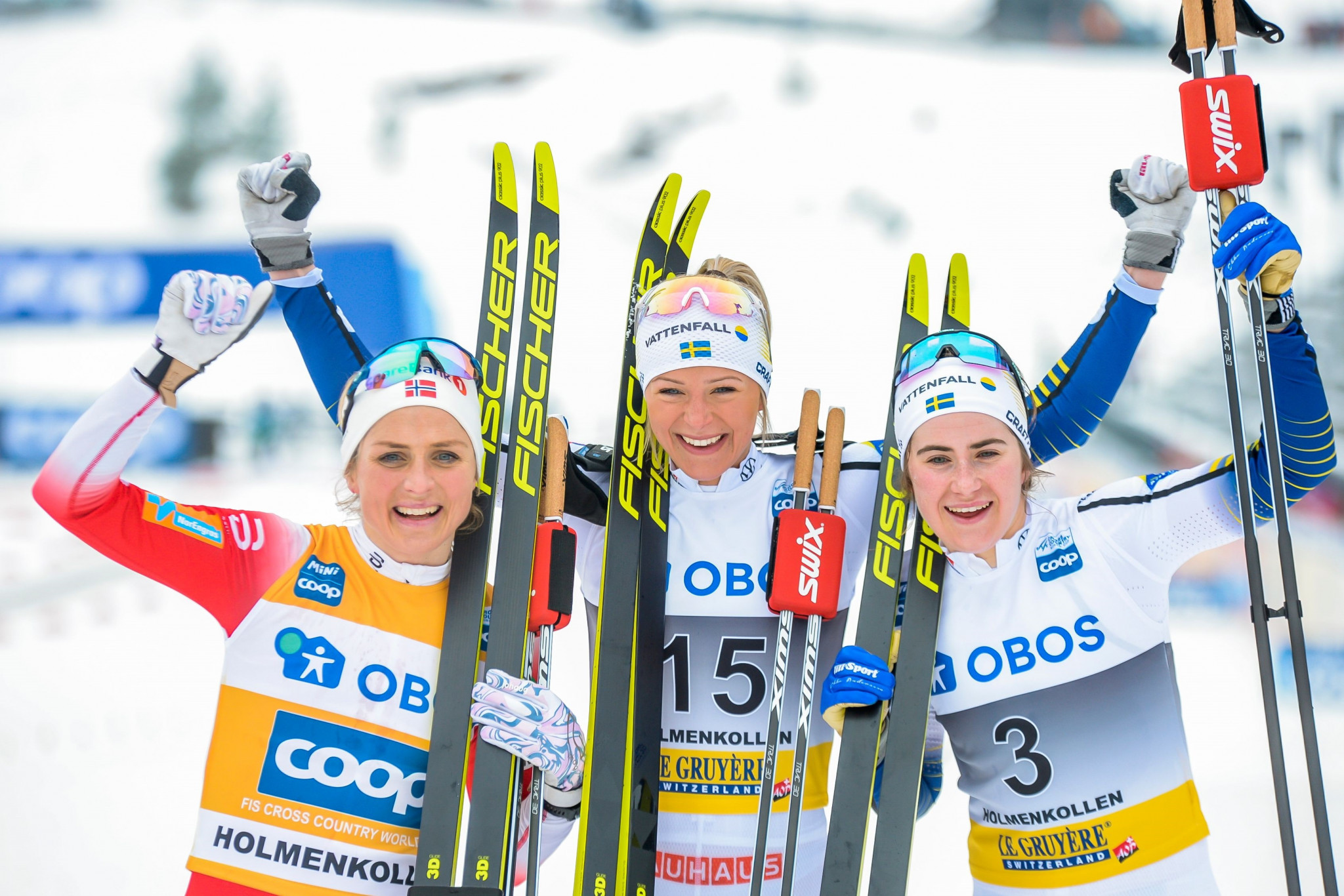 Karlsson claims maiden FIS Cross-Country World Cup win as Johaug secures overall title