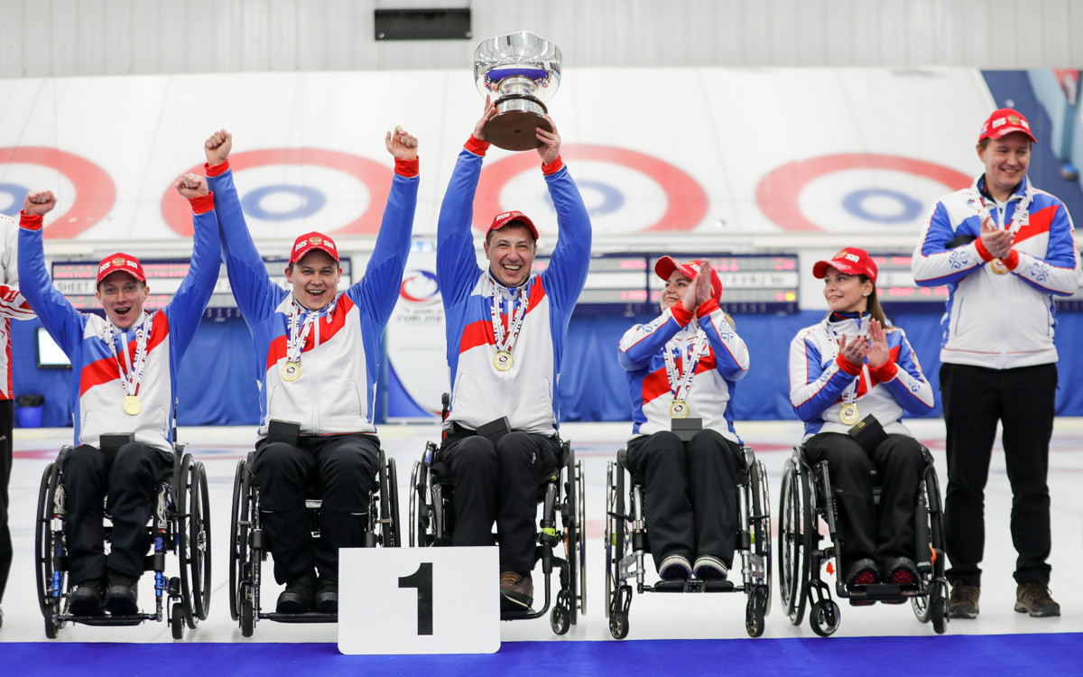 Russia take gold at World Wheelchair Curling Championship after one-point win