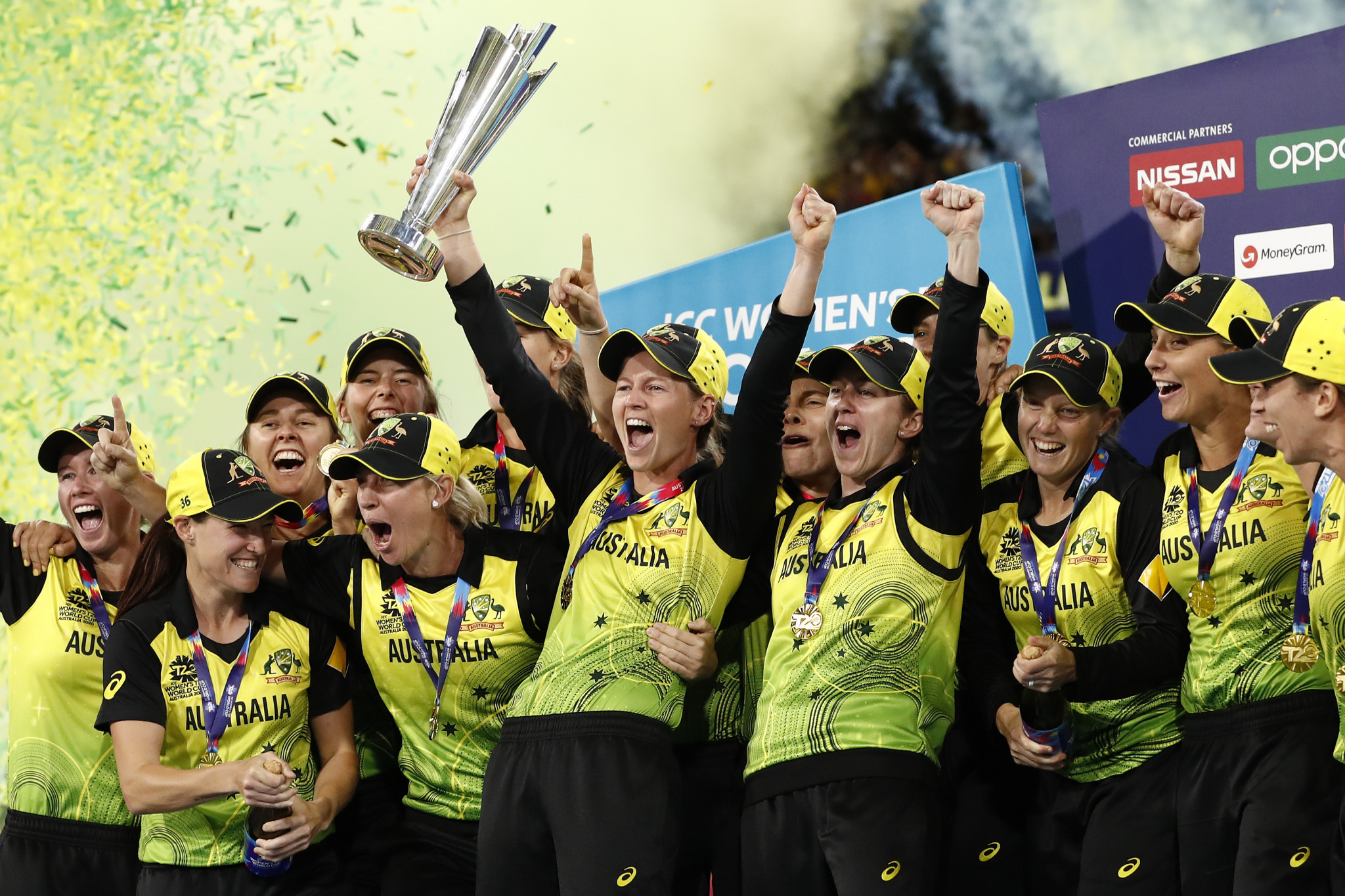 Australia thrash India to win ICC Women's T20 World Cup