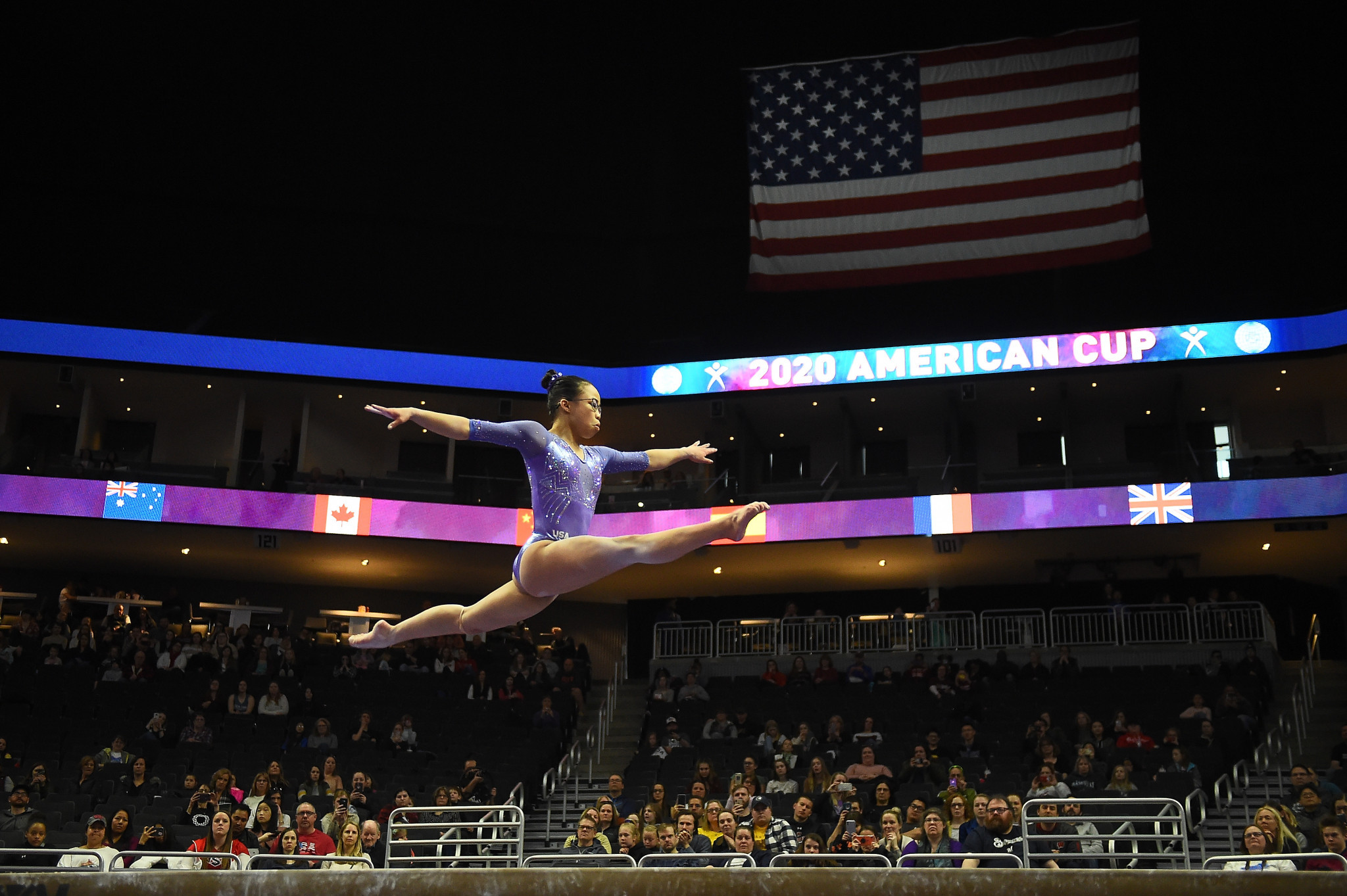 Hurd earns women's title at FIG World Cup event in Milwaukee