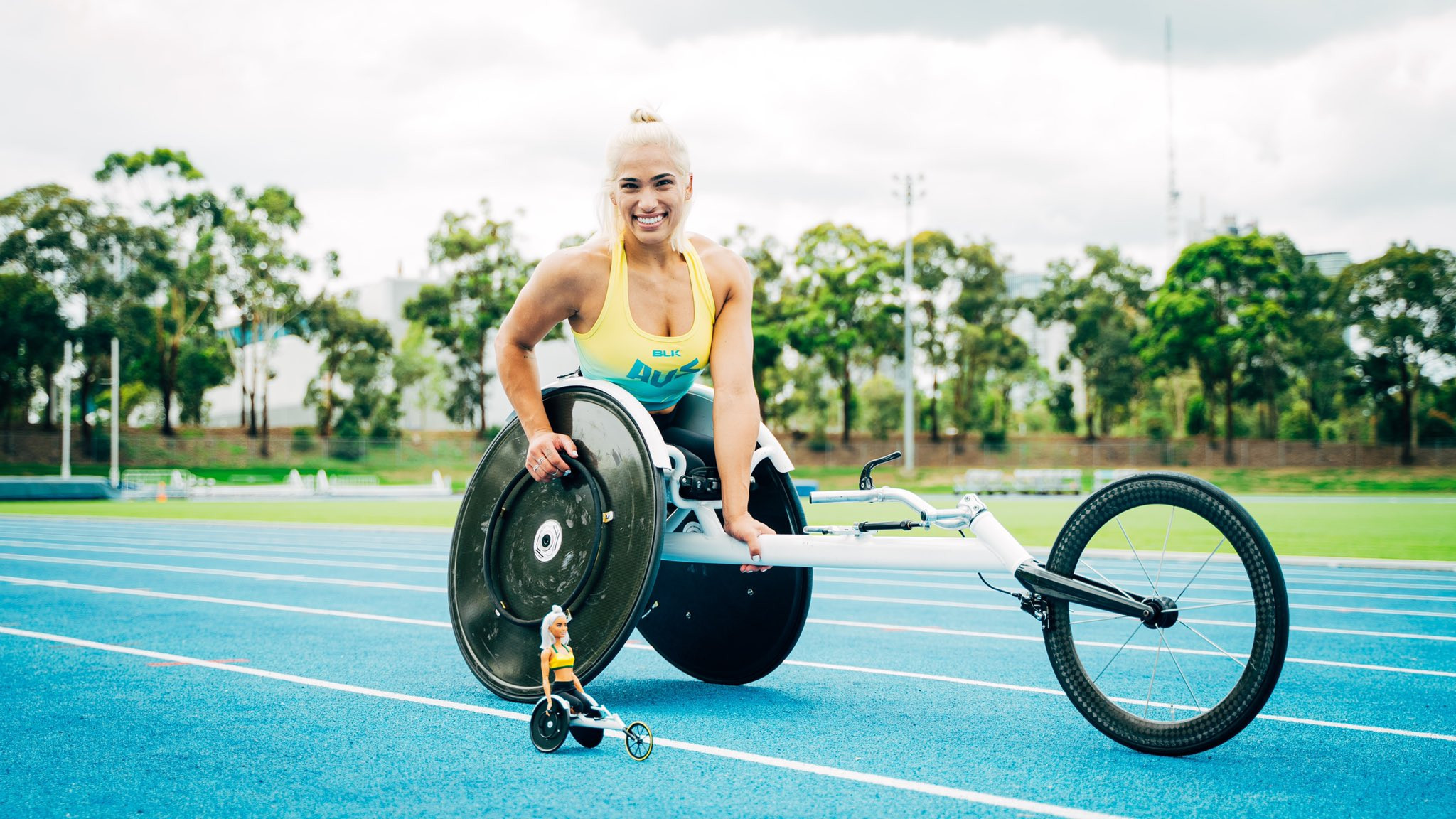 Paralympian de Rozario inspires Barbie doll for International Women's Day