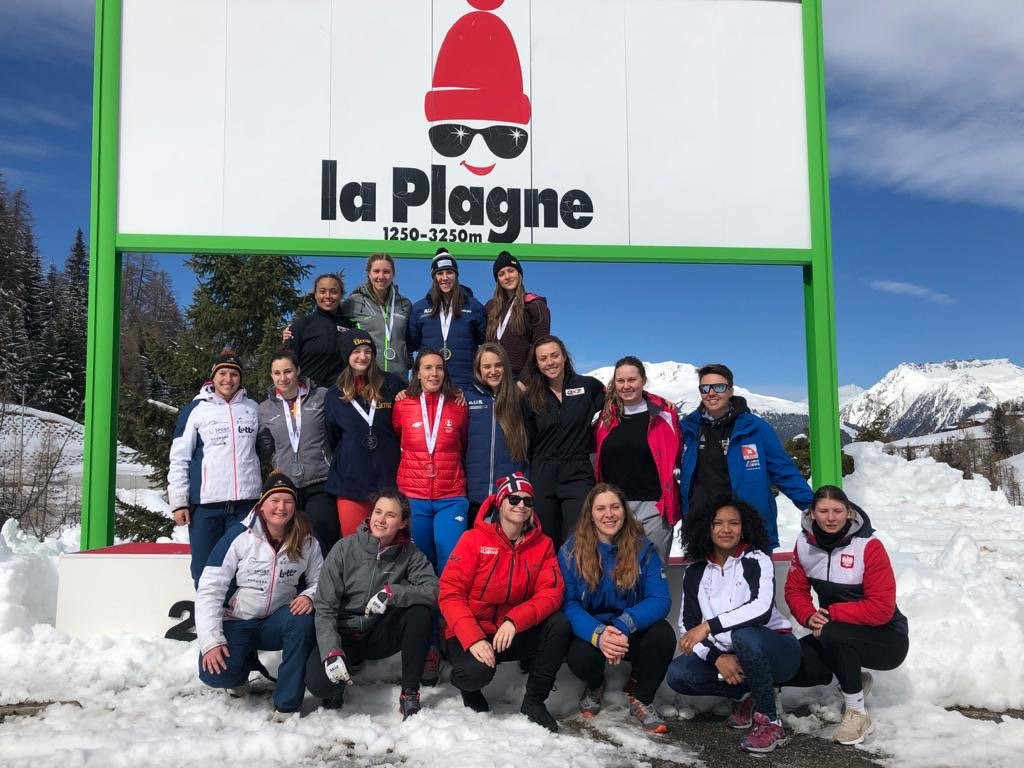 Walker a winner again in second IBSF women's monobob race at La Plagne