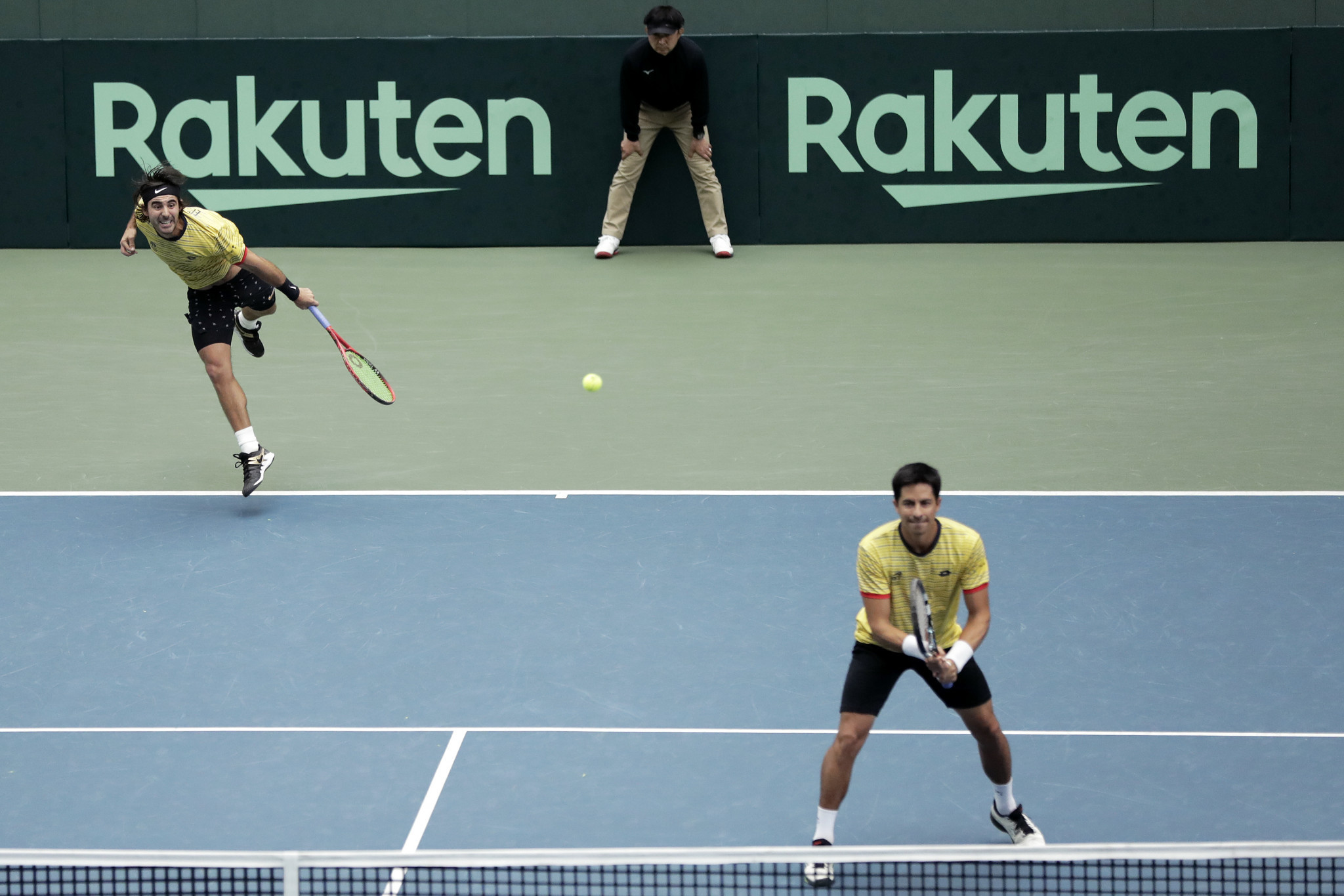 Ecuador stun Japan to reach Davis Cup Final as line up completed