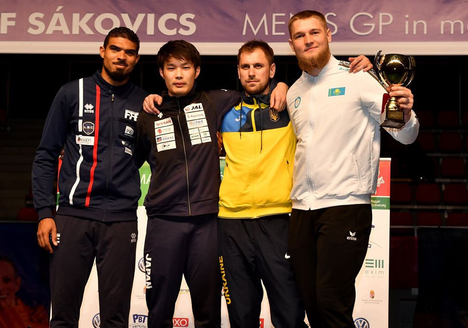 Yamada and Louis Marie triumph at FIE Épée Grand Prix in Budapest