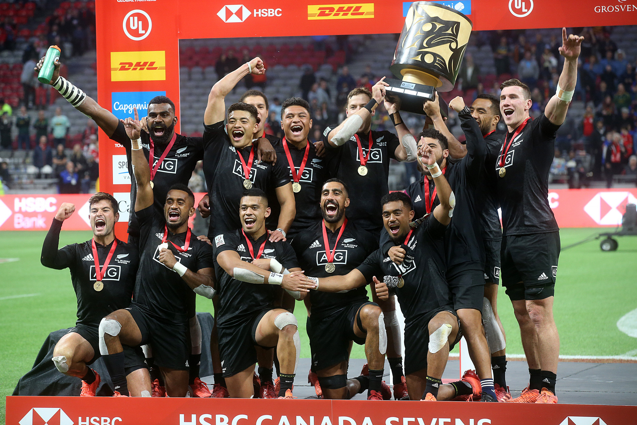 New Zealand extend World Rugby Sevens Series lead with victory in Vancouver