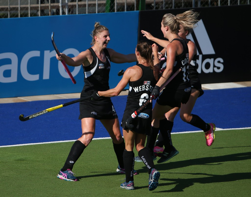 New Zealand on their Merry way to last four at Hockey World League with late win over Britain