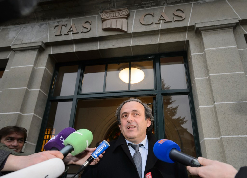 FIFA Presidental hopeful Platini fails to get suspension lifted at Court of Arbitration for Sport