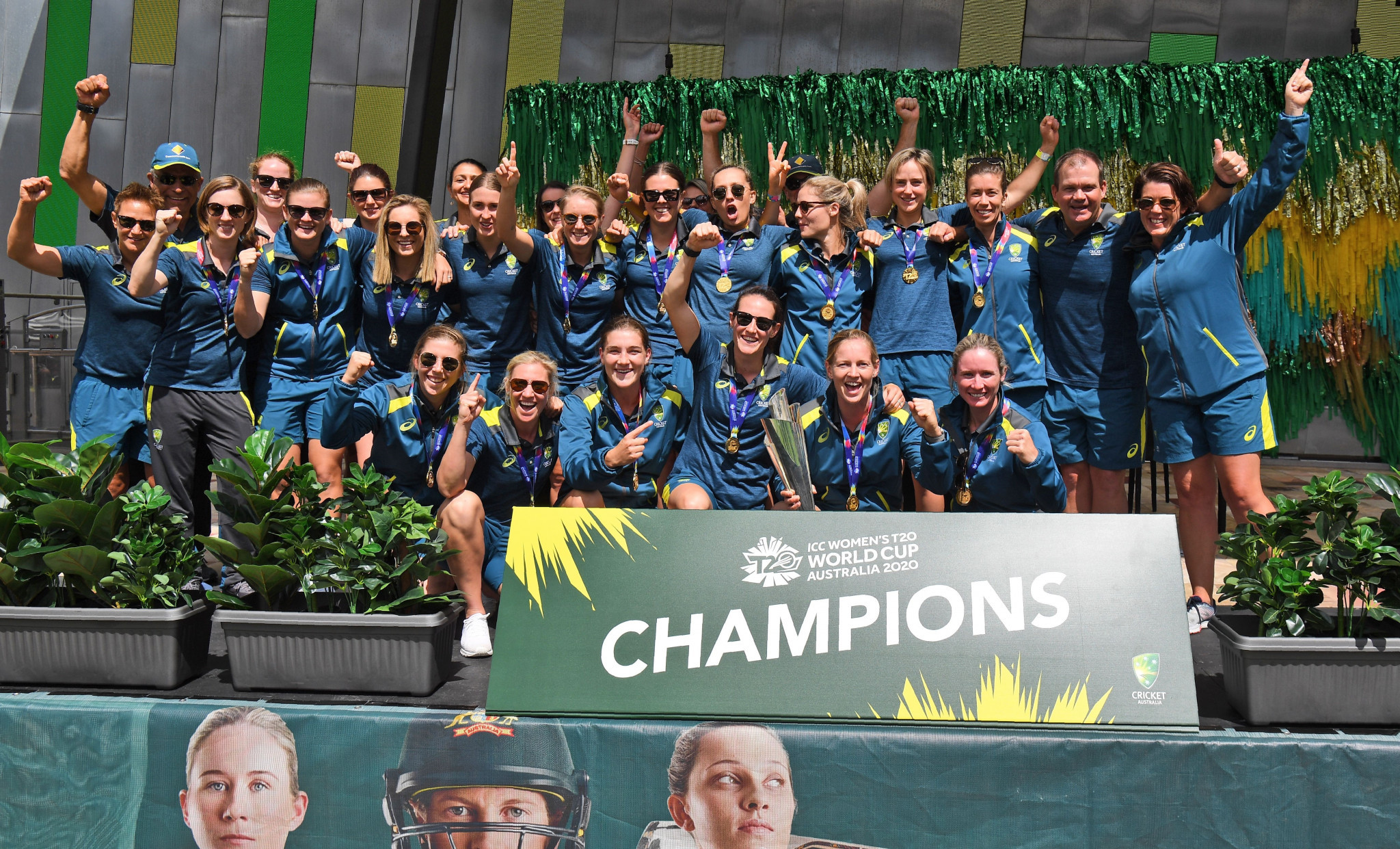 Australia won the ICC Women's T20 World Cup for a record fifth time ©Getty Images