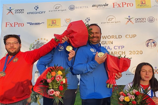 France win first gold medal at ISSF Shotgun World Cup in Nicosia