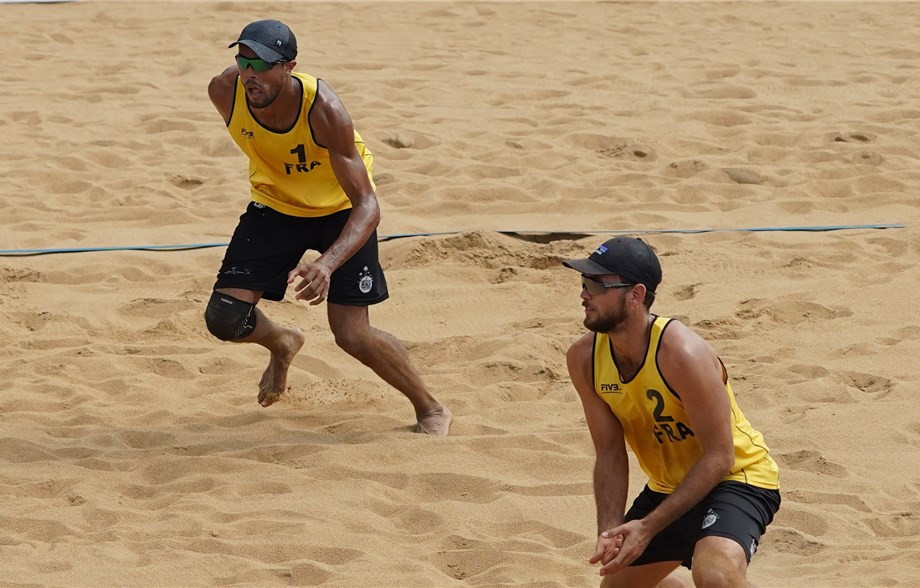 French pair among qualifiers for main draw at FIVB Beach World Tour event in Doha