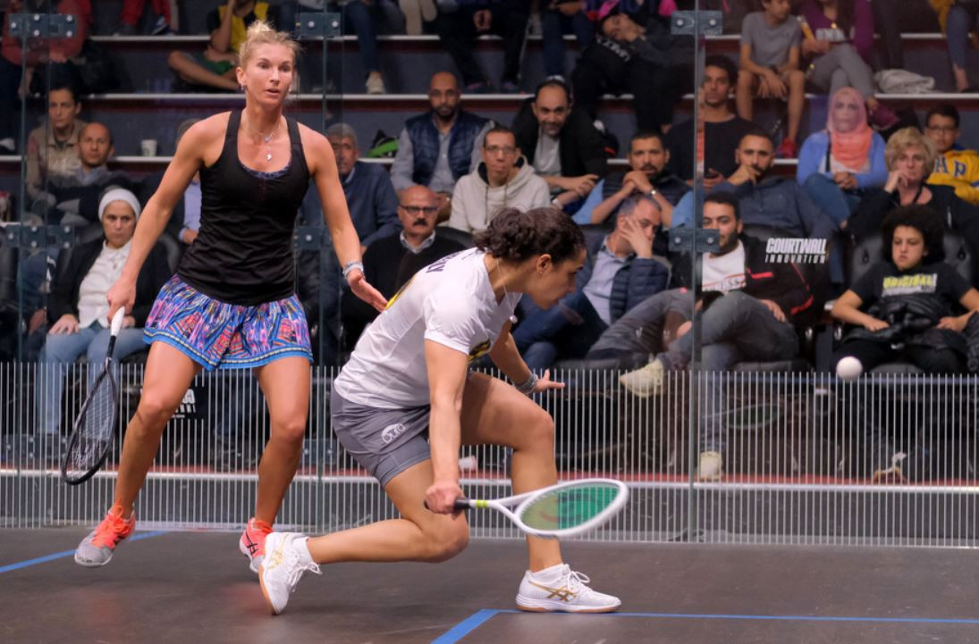 El Welily begins Black Ball Squash Open title defence with win against Fuller