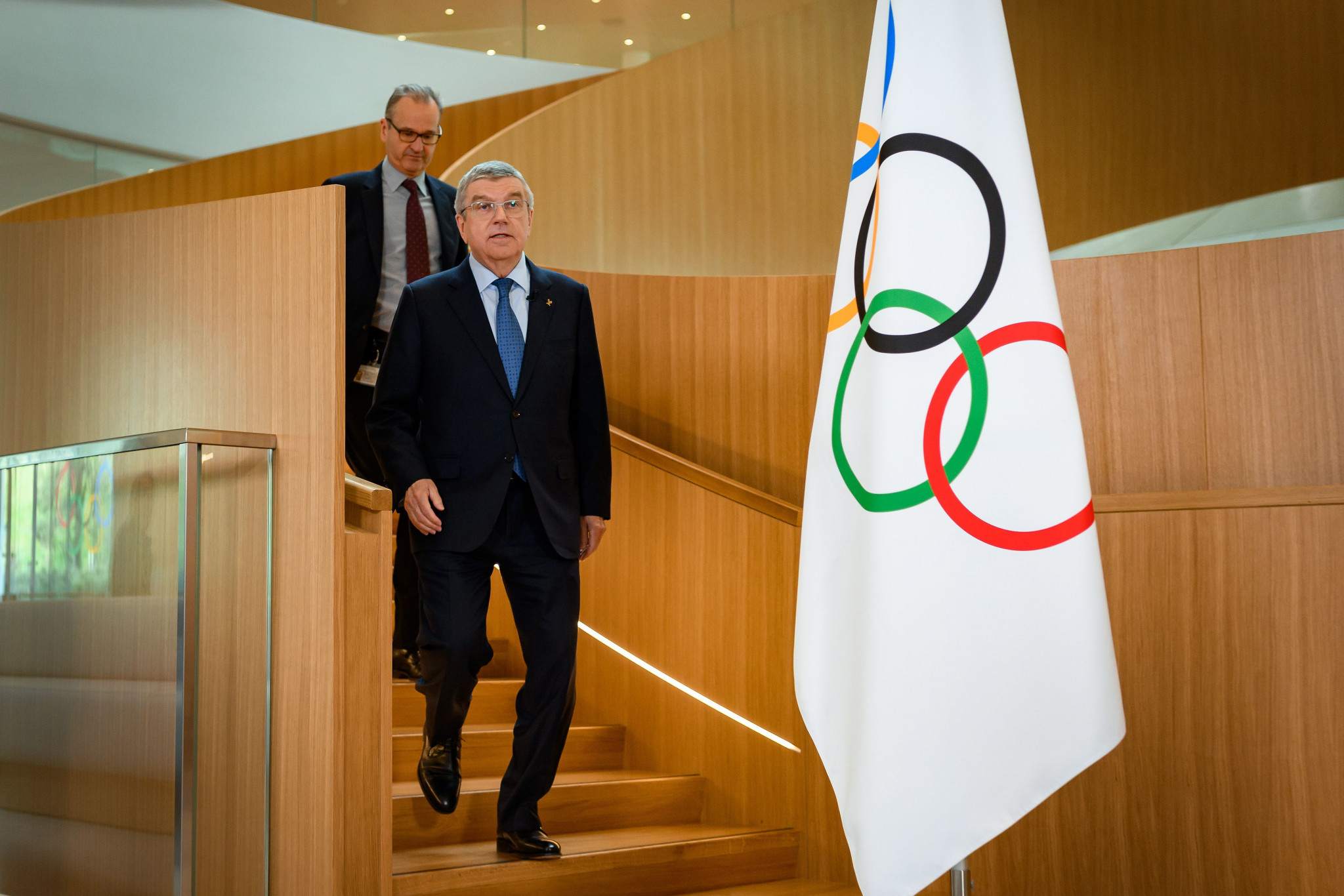 IOC President Thomas Bach has offered reassurances about the Games taking place as planned ©Getty Images