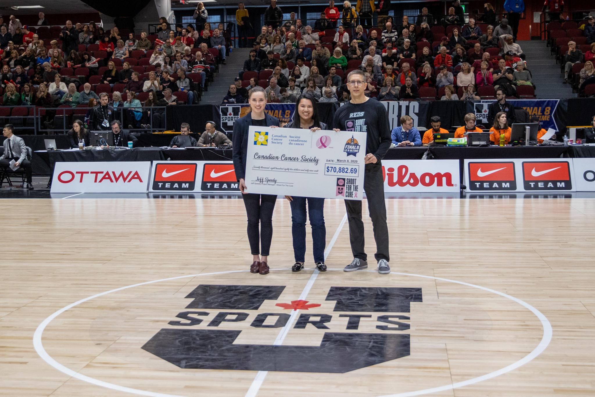 U SPORTS women's basketball fundraising initiative raises $106,000