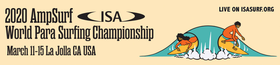 Record-breaking number of athletes set to compete at ISA World Para Surfing Championships