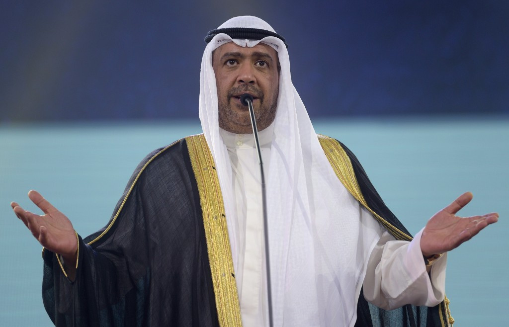 Sheikh Ahmad has criticised Kuwaiti authorities in a fierce statement today ©Getty Images
