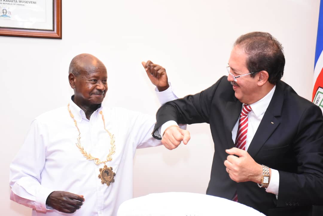 Uganda President and National Olympic Committee head presented with ANOCA awards