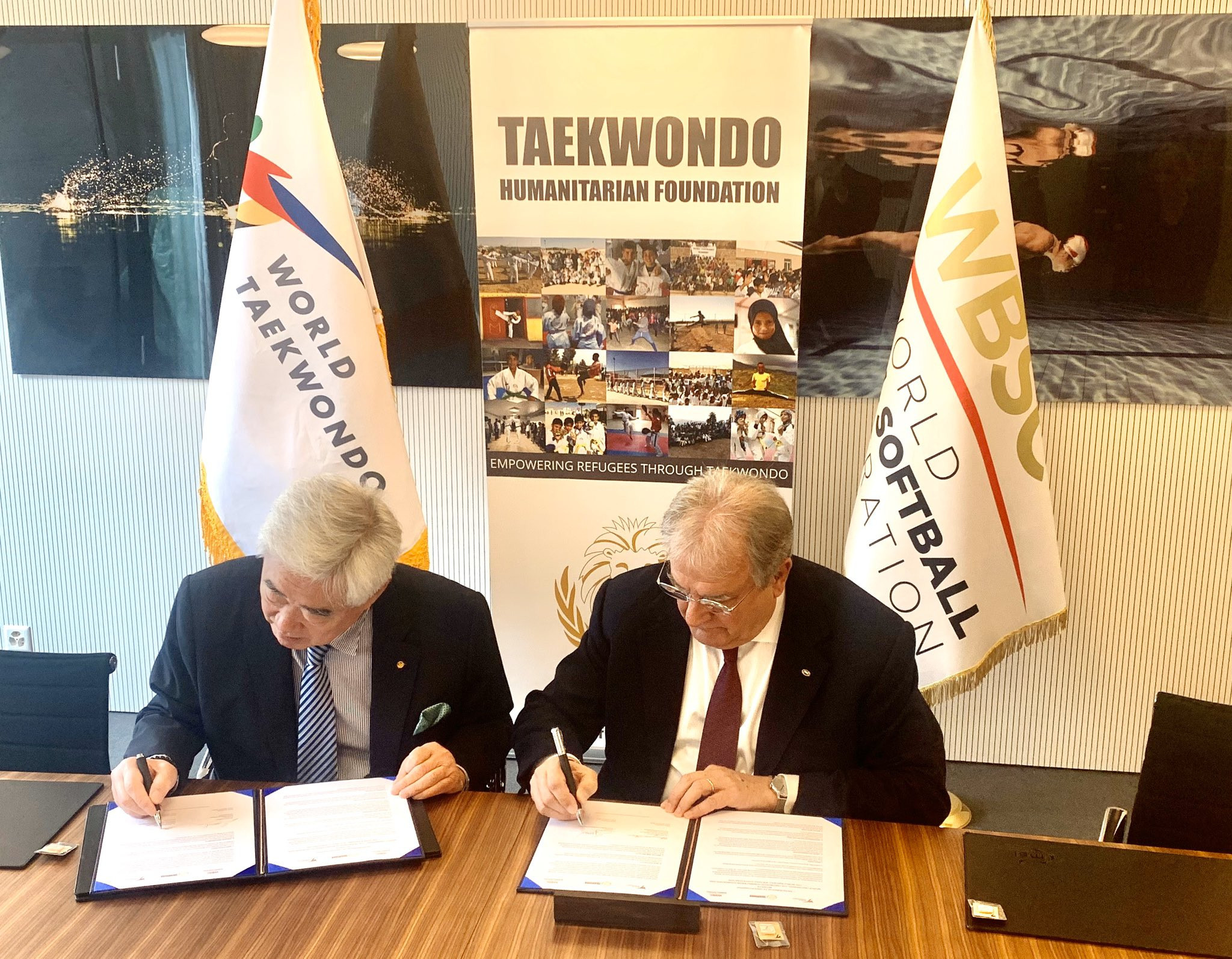 Baseball and softball have become the latest sports to partner with the THF  ©World Taekwondo