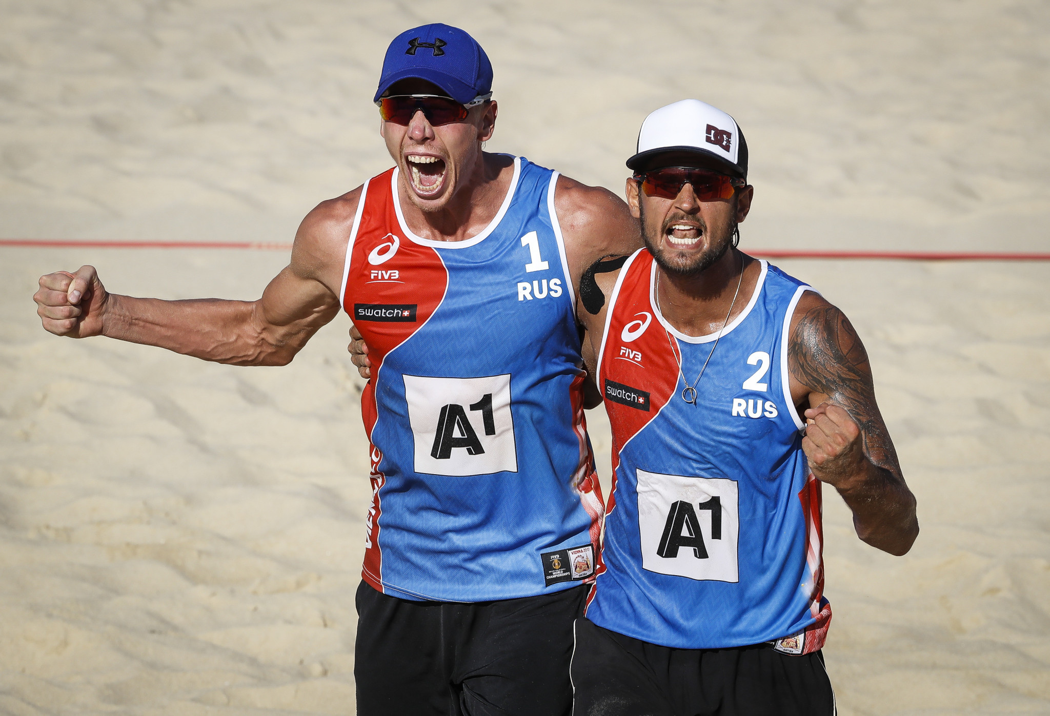 Top seeds through in men's FIVB Beach Volleyball World Tour