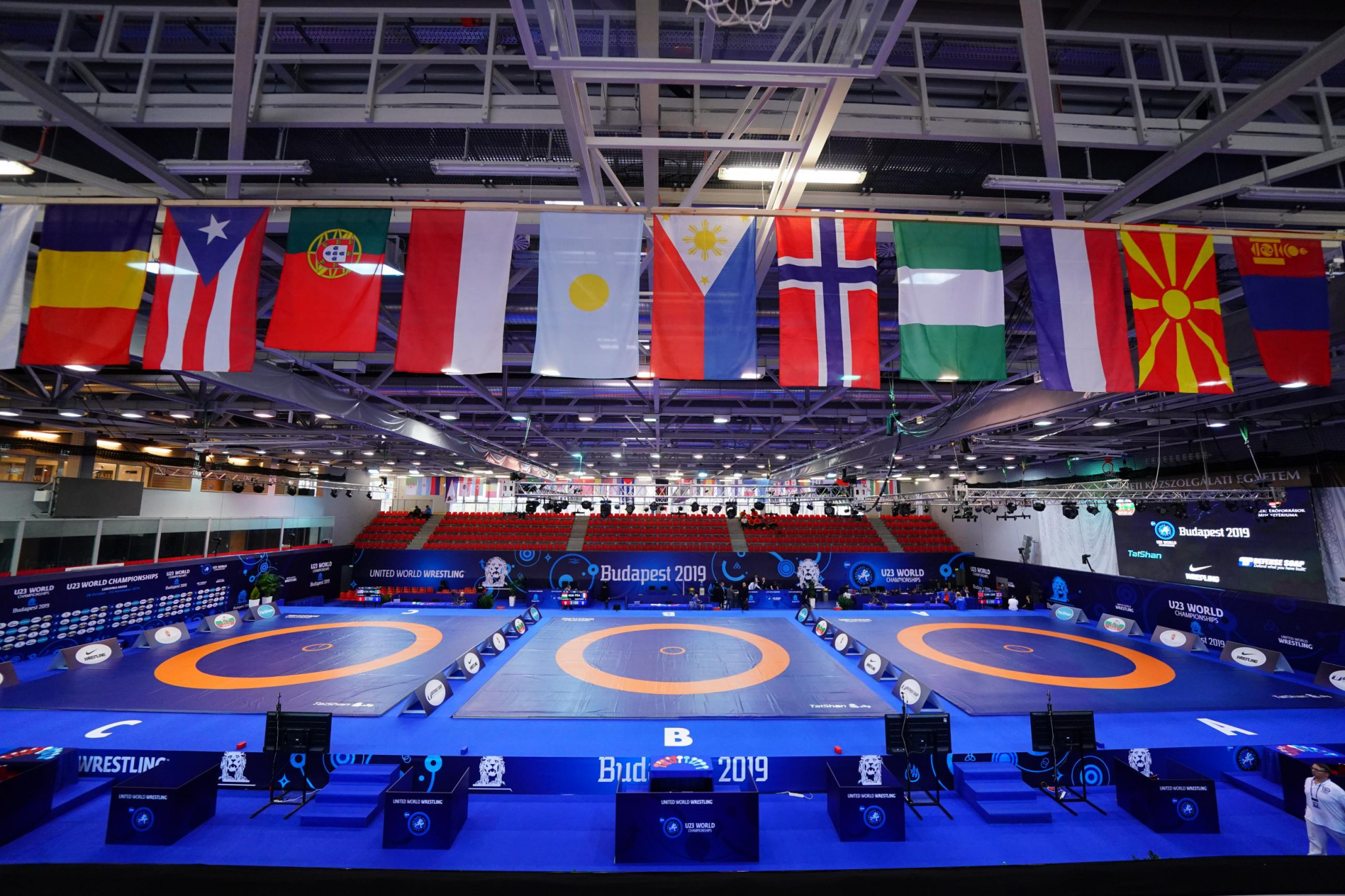 Two Olympic wrestling qualifiers postponed due to coronavirus