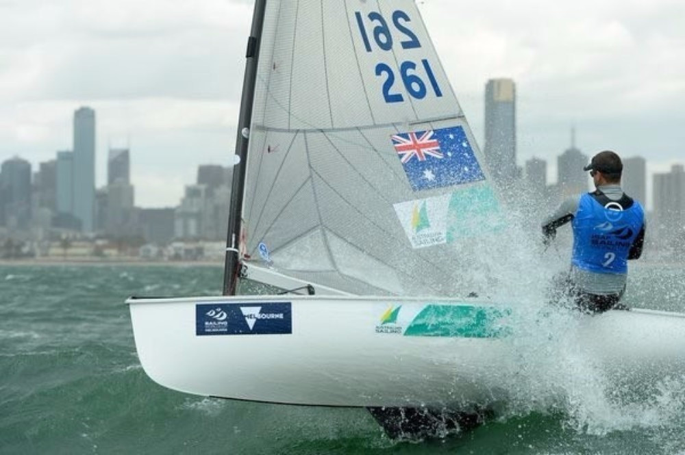 Conways extend men's 470 lead as strong winds disrupt Sailing World Cup