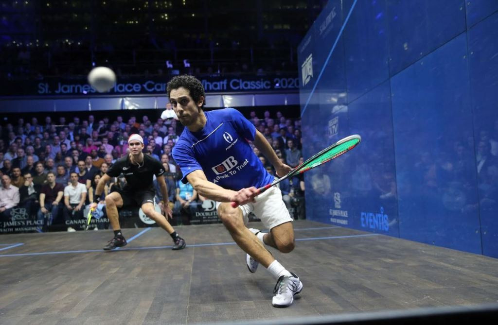 All-Egyptian semi-finals at St James' Place Canary Wharf Squash Classic