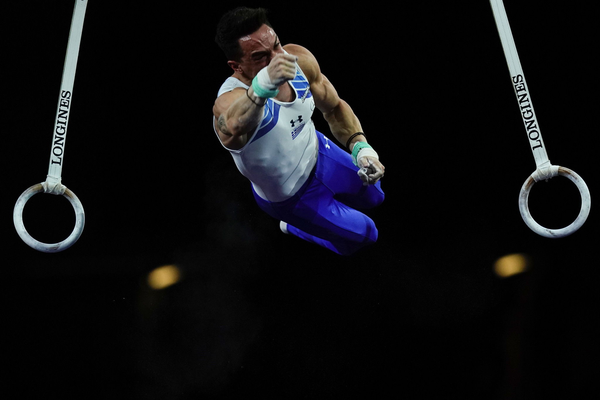 Olympic champion Petrounias tops rings qualification at FIG Apparatus World Cup