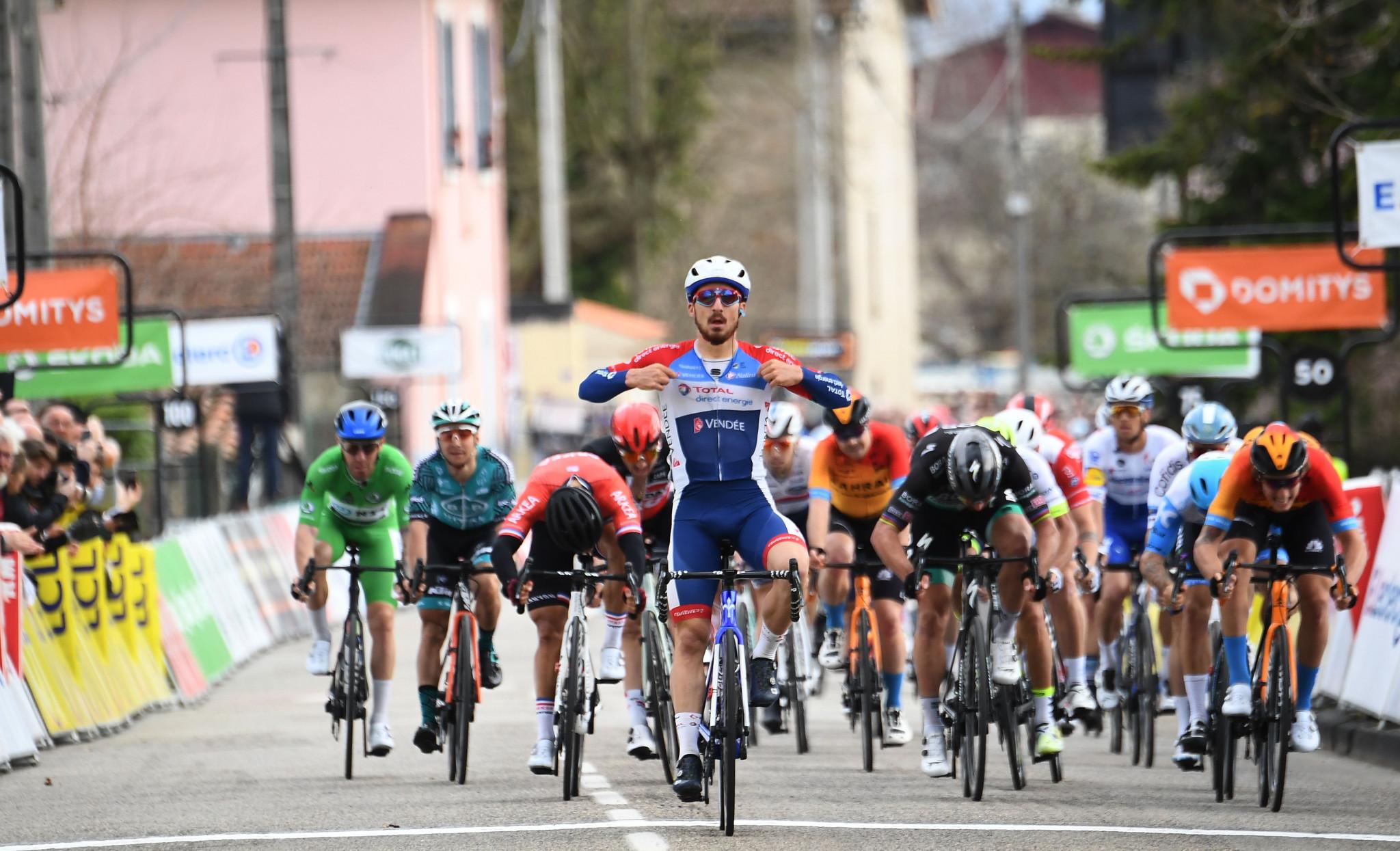 Bonifazio earns stage five win at Paris-Nice as Tratnik falls just short