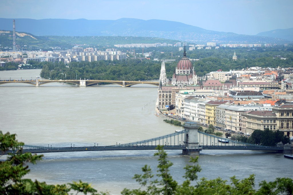Athletes could commute to events on the Danube at Budapest 2024 ©Getty Images