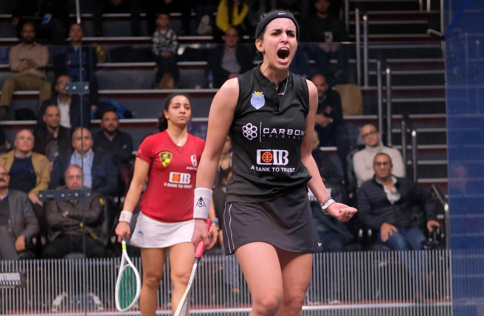El Tayeb ousts defending champion El Welily to reach PSA Black Ball Squash Open semi-finals