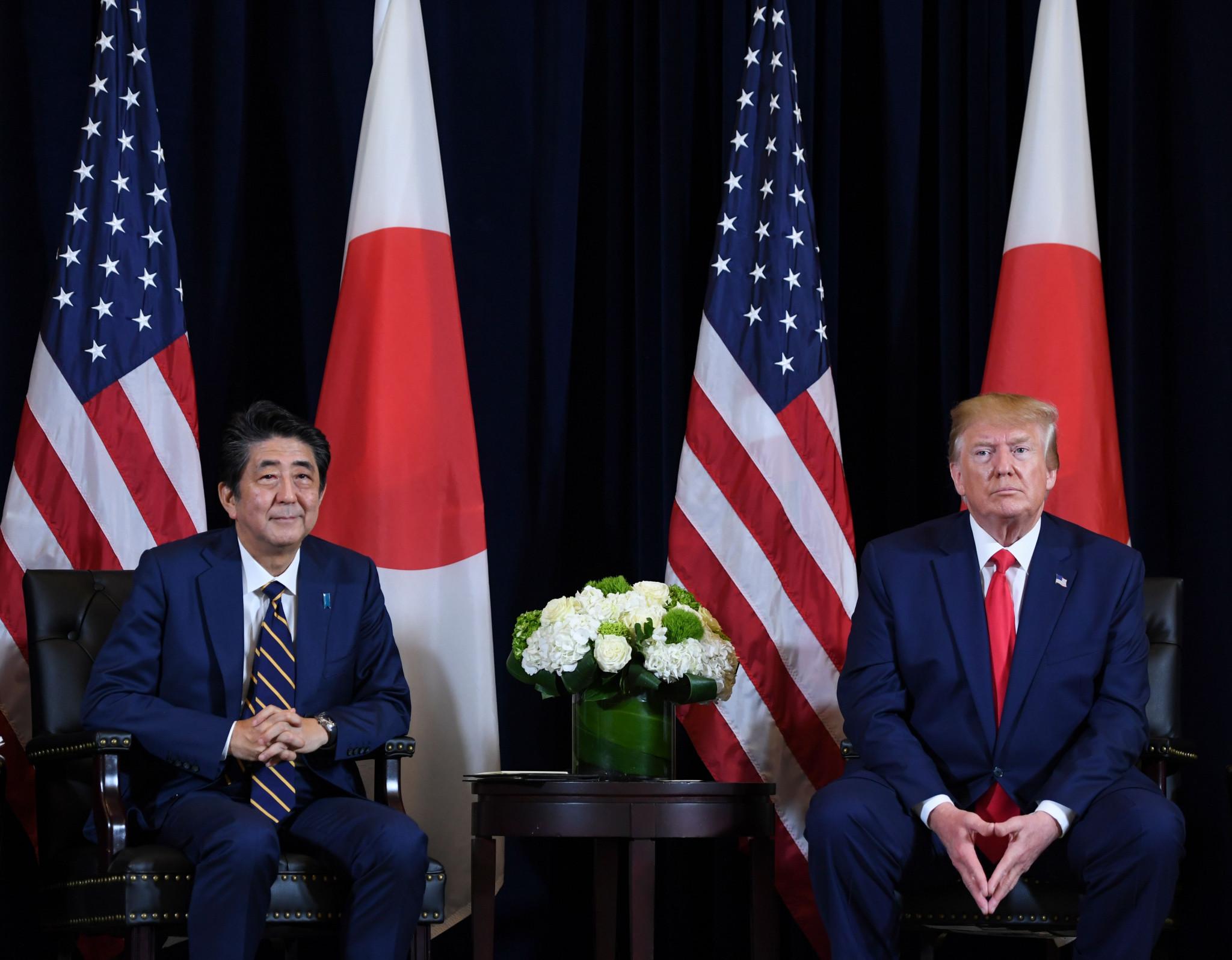 Abe tells Trump Japan preparing for Tokyo 2020 as planned after US President suggests postponement