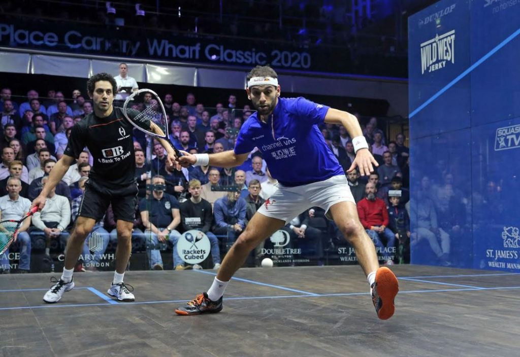 World's top two to play in final of St James' Place Canary Wharf Squash Classic