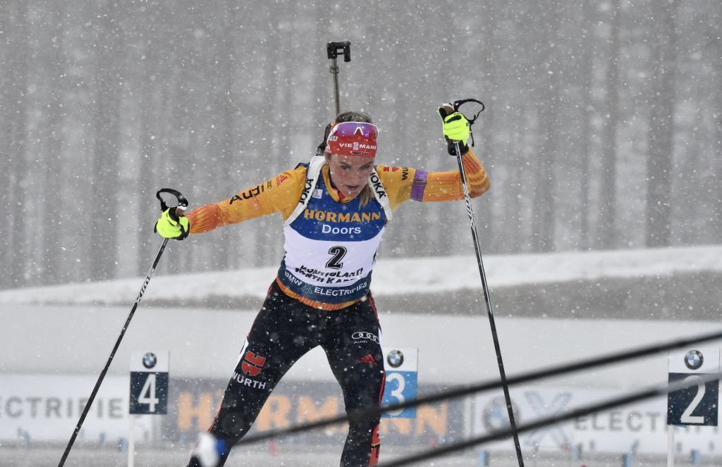Herrmann wins sprint to boost overall hopes at IBU World Cup