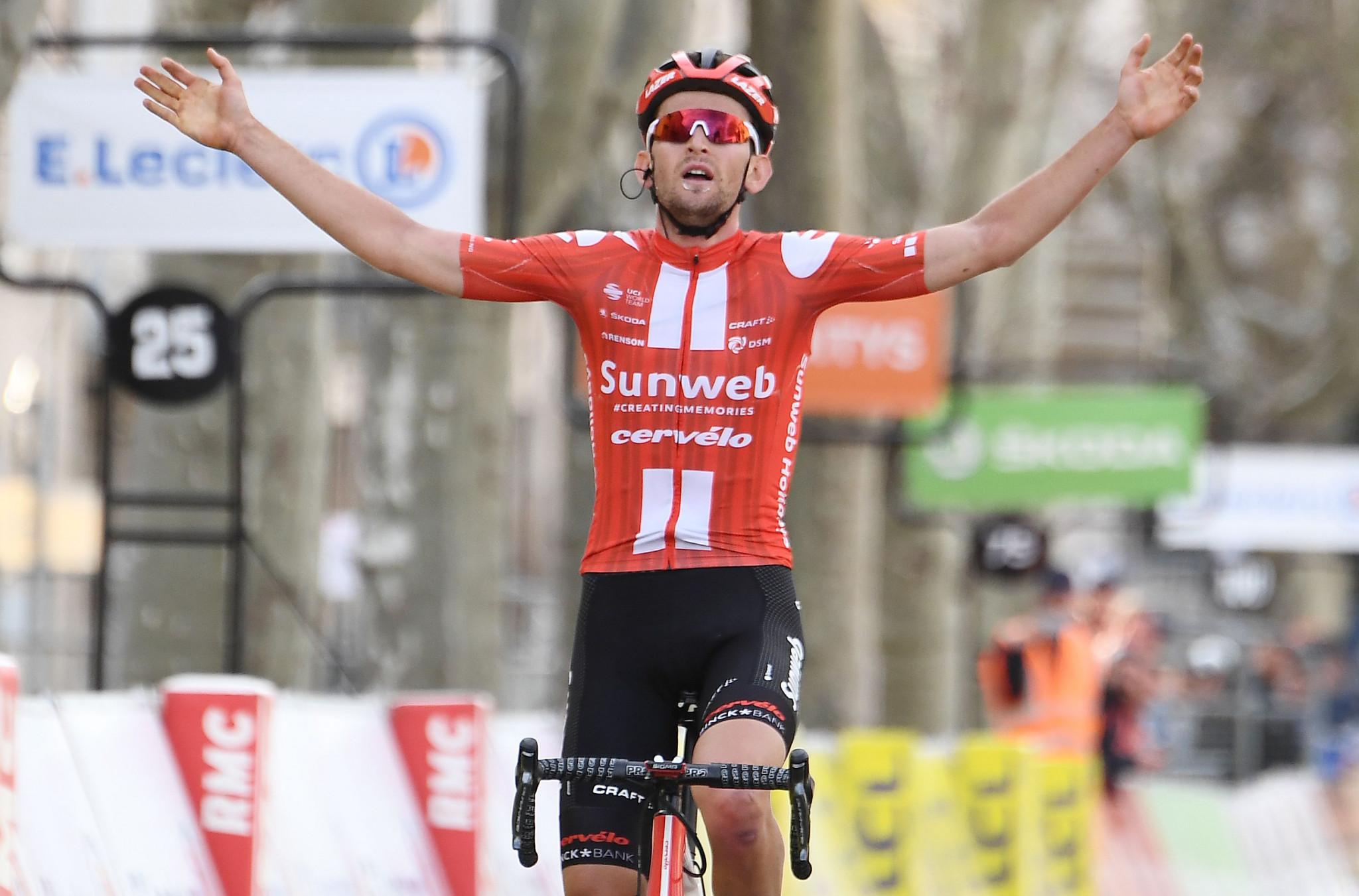 Maximilian Schachmann wins shortened Paris-Nice cycling race