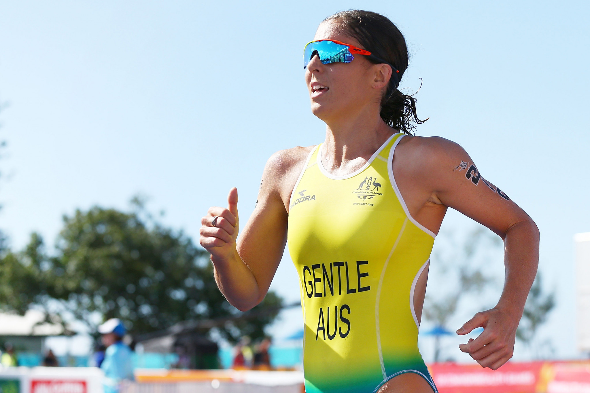 Gentle eyes repeat victory at ITU World Cup in Mooloolaba