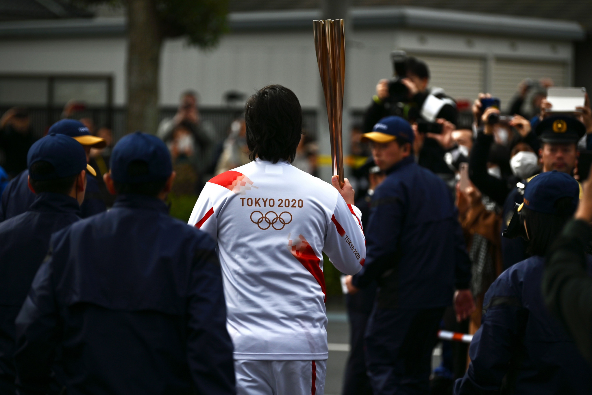 "Tokyo Governor says Olympic Torch Relay to continue with ""thorough infection measures"""