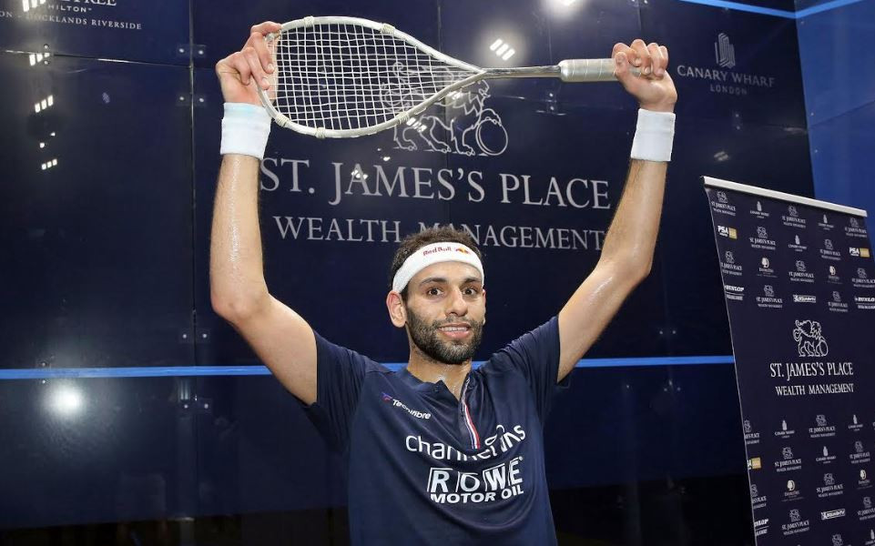 ElShorbagy wins Canary Wharf Classic on eve of squash season's suspension