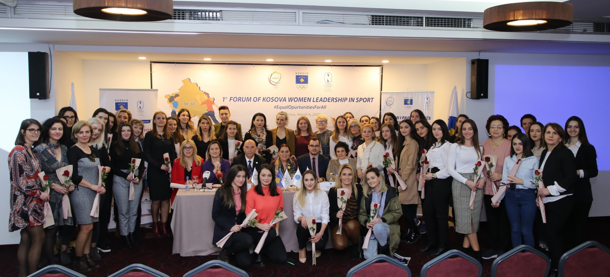 Olympic Committee of Kosovo hosts first Leading Sports Women Forum