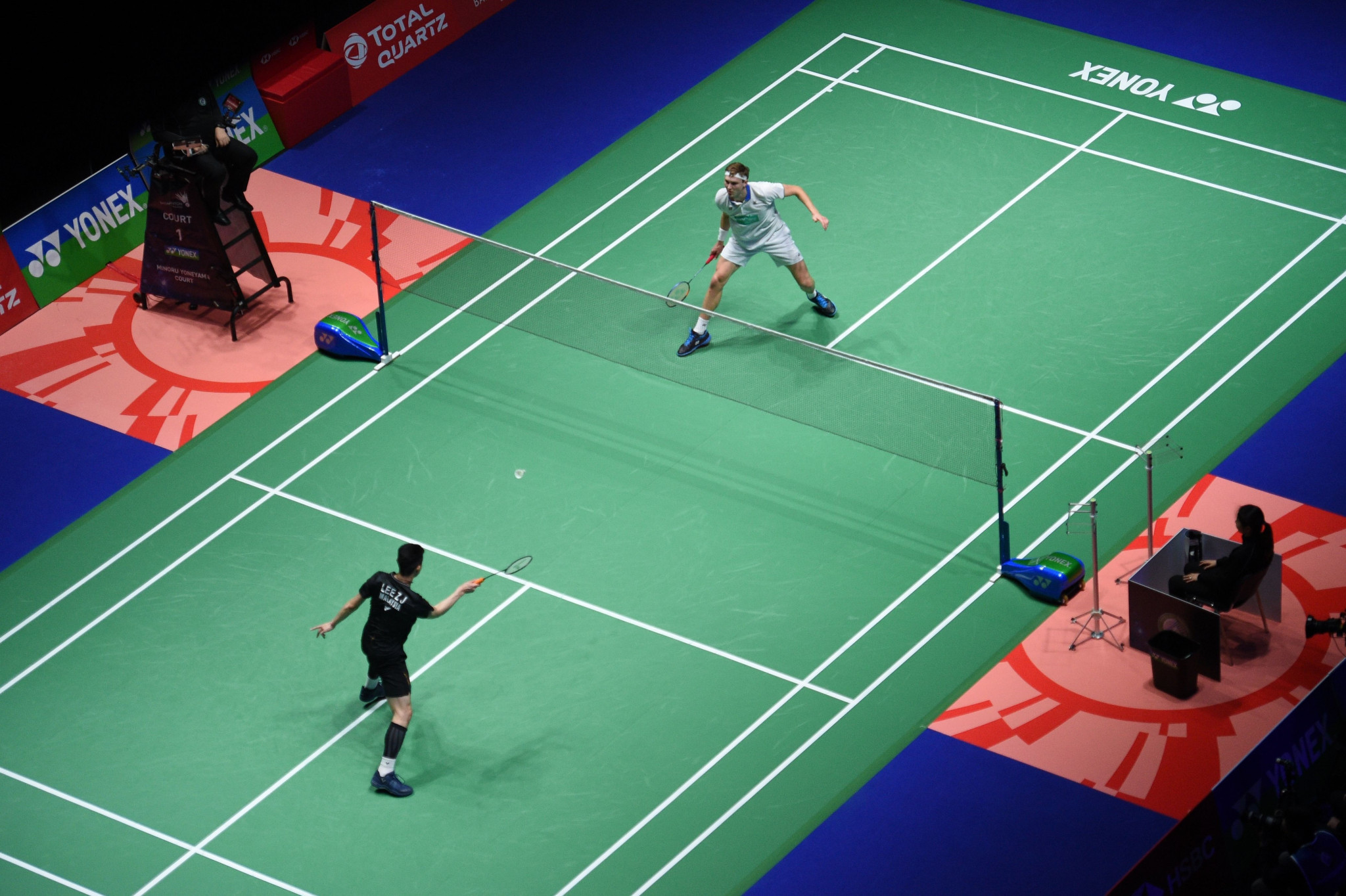 The suspension of the circuit will come into effect following the completion of the All England Open Championships in Birmingham tomorrow ©Getty Images