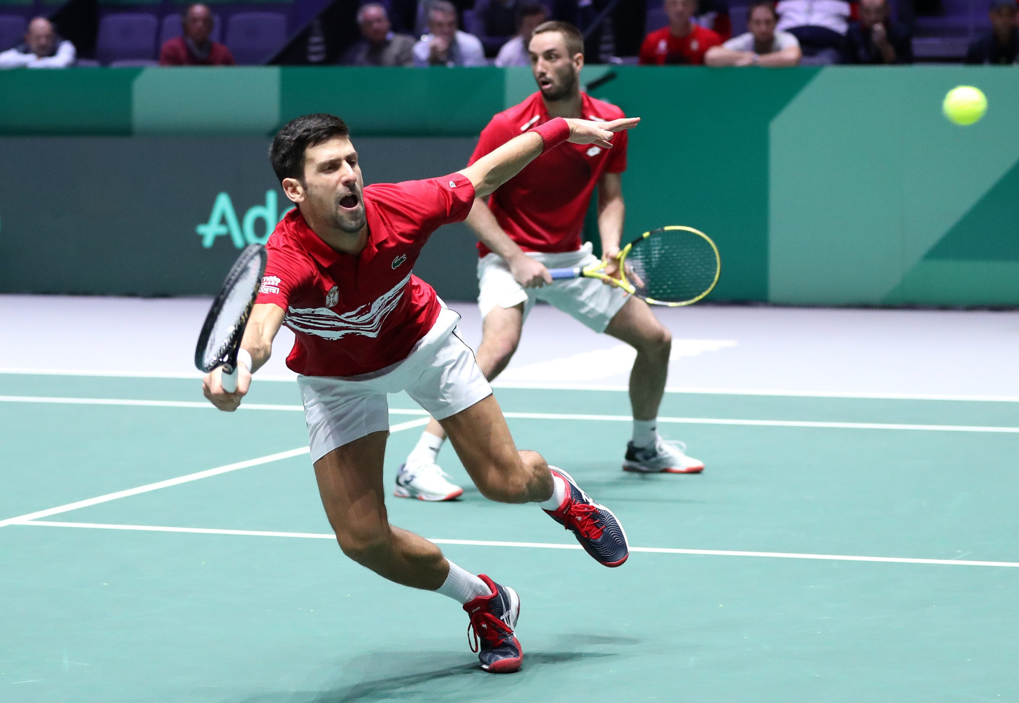 Djokovic's Serbia handed tough group for Davis Cup Finals