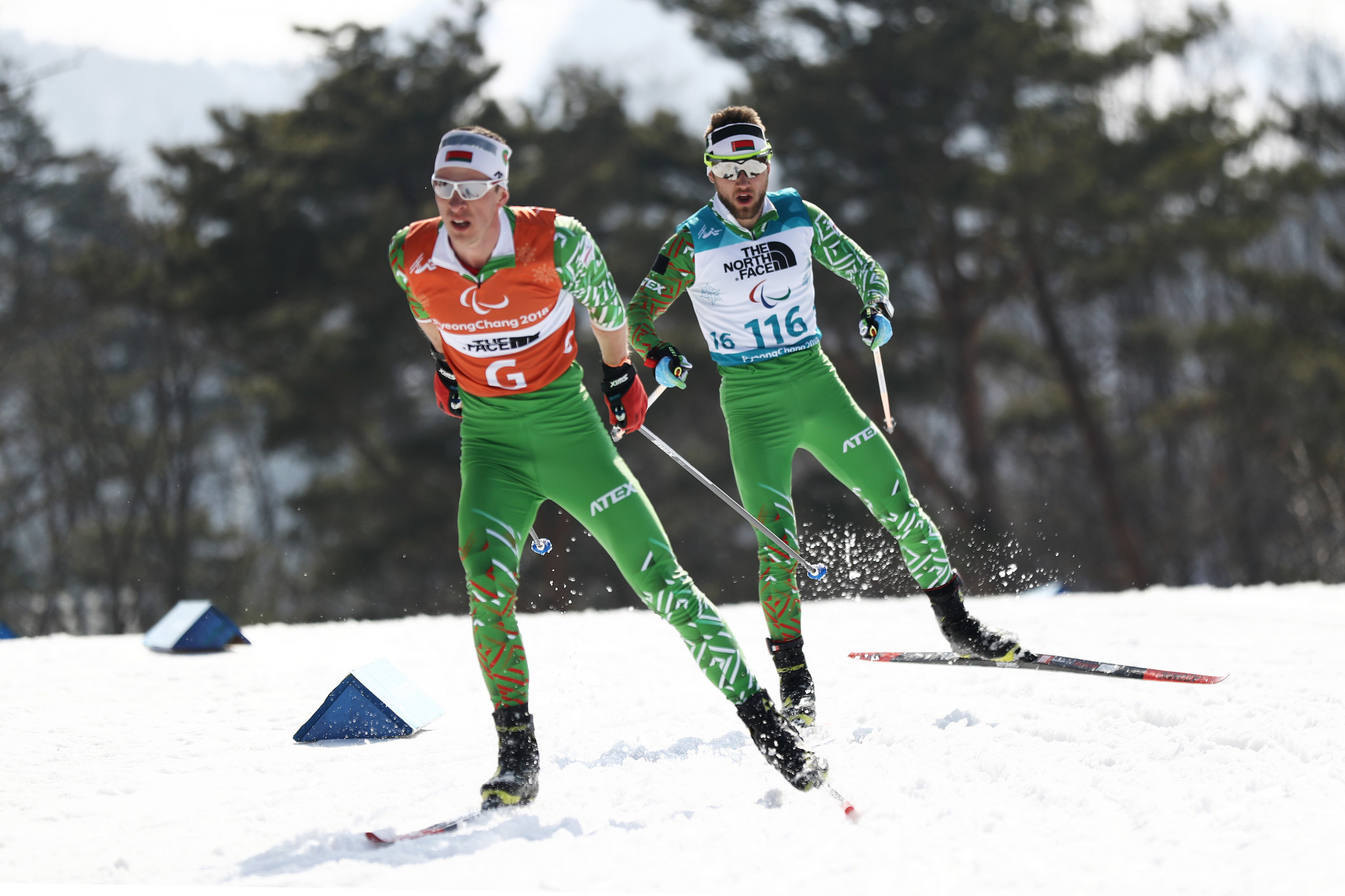 Belarus' Yury Holub was crowned the overall World Para Biathlon World Cup champion ©Getty Images