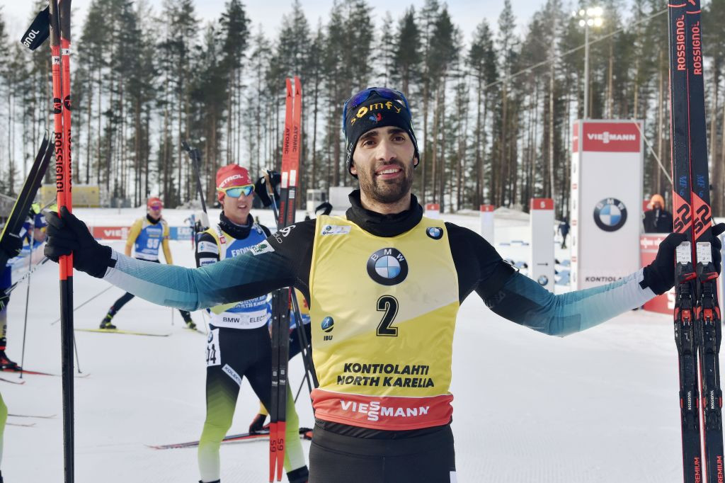 Fourcade wins final race but Bø clinches overall title at IBU World Cup