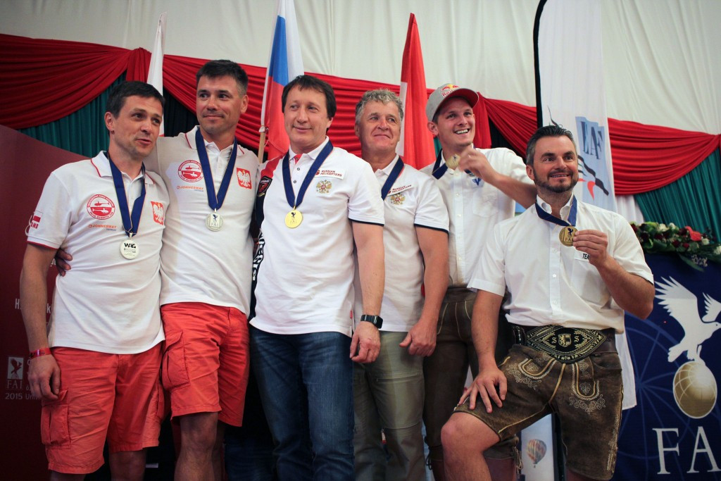Russian pair rise to Polish challenge to win rotorcraft title at World Air Games