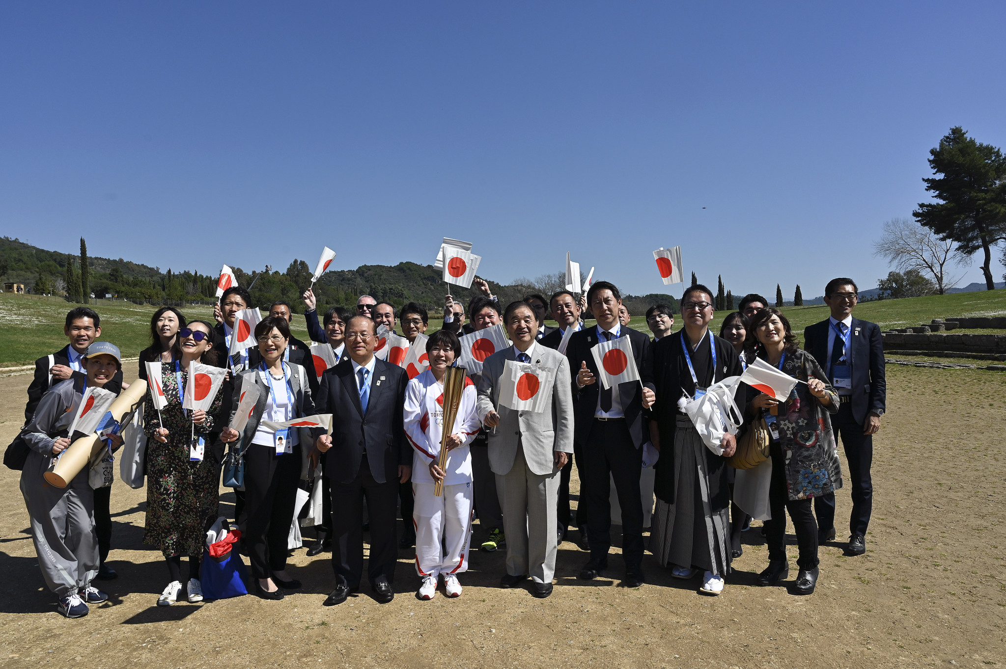 Handover of Olympic Flame to Tokyo 2020 will be behind closed doors